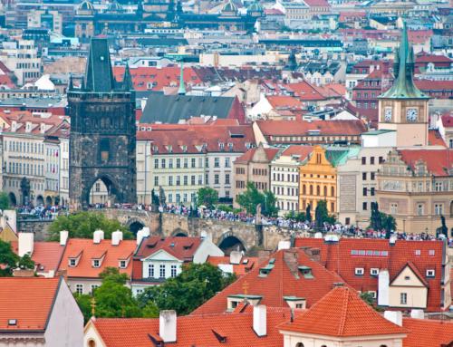 Средневековые замки Чехии, видеосюжет