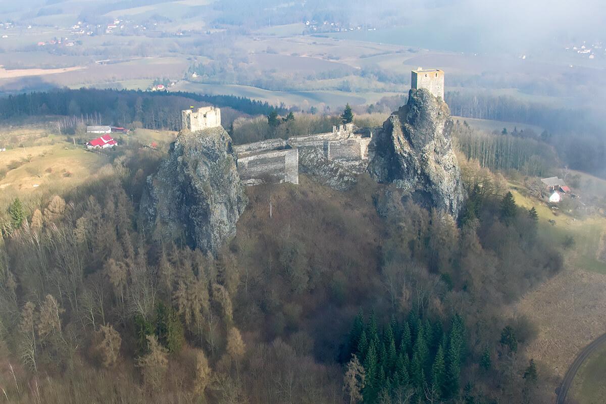 Средневековый замок Кост, Чешский Рай, Чехия
