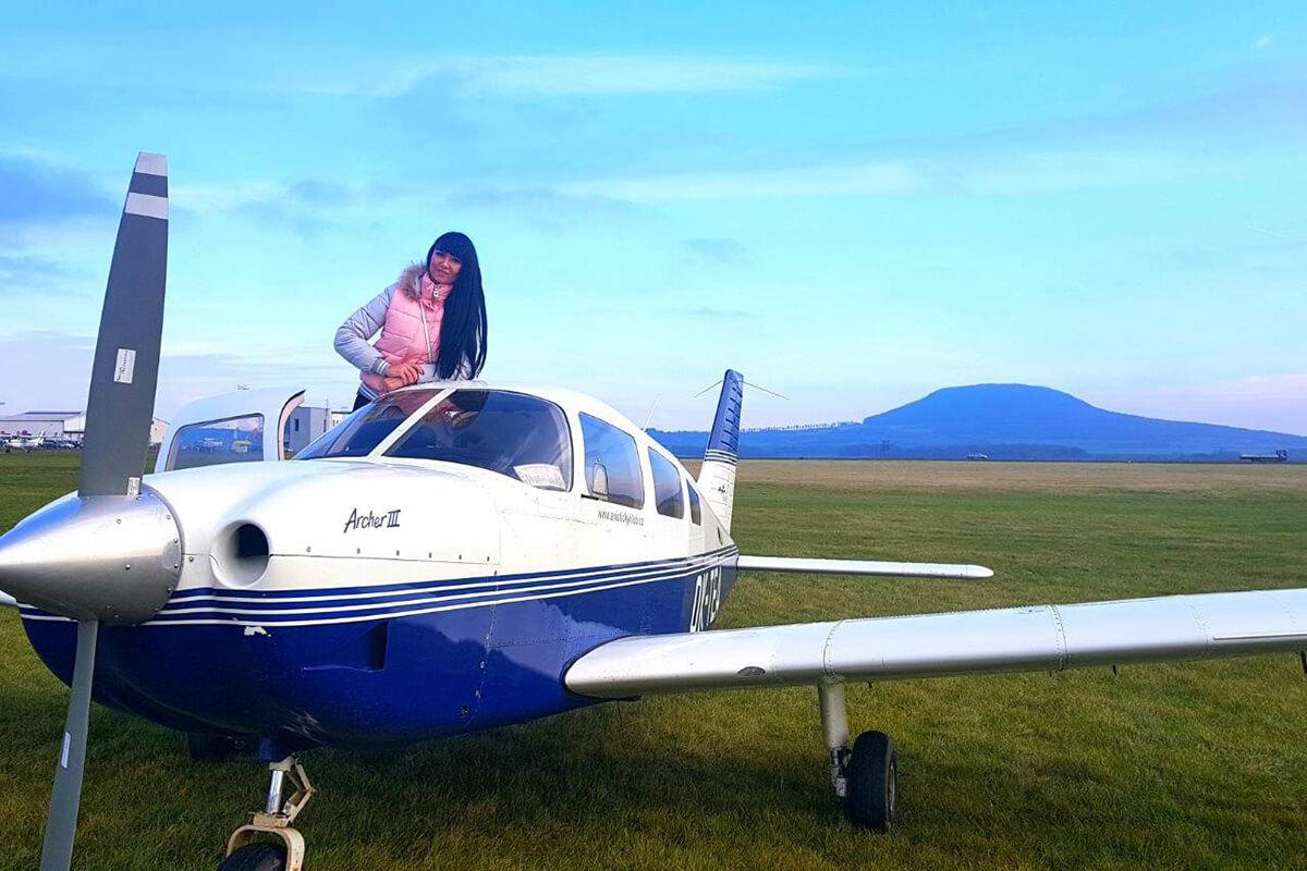 Мой ласковый и нежный самолет