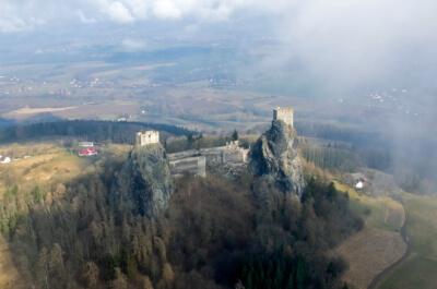 руины крепости Троски