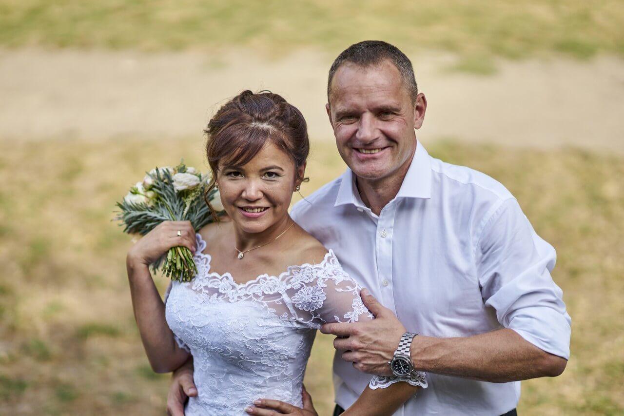 Свадьба в полете